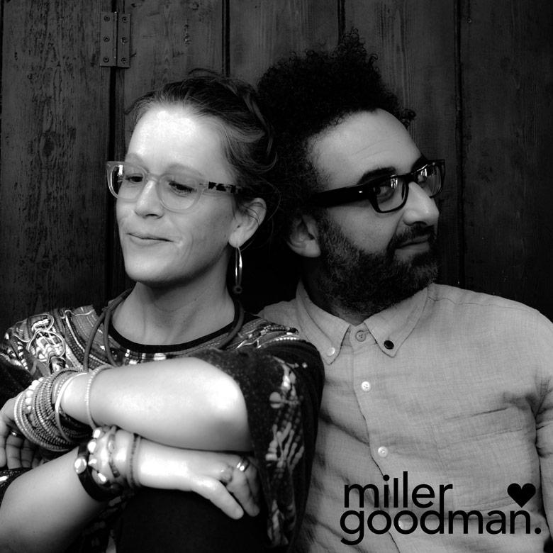 Zoe MillerとDavid Goodman