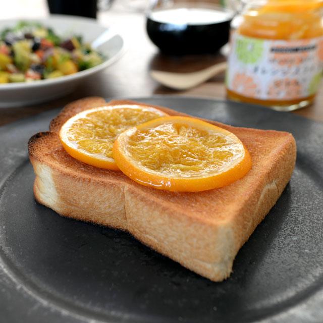 パン オレンジ スライス オレンジスライス ジャム